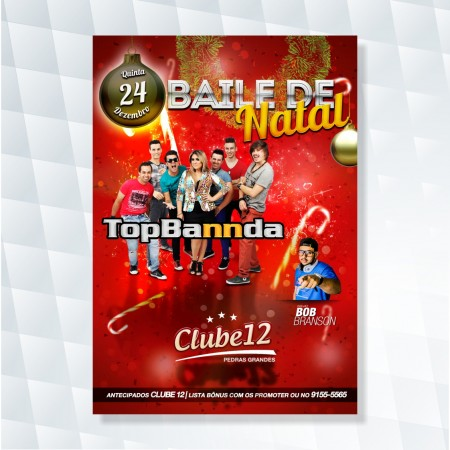 cartaz festa